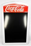 Coca Cola, orig. USA, Nostalgie Blechschild mit Notiztafel