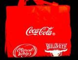 Coca Cola, Bulls Eye, Strand-Picknick-Decke, 170 x 130cm, faltbar, gesteppt