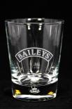 Baileys Glas / Gläser, Tumbler - Baileys Editions mit der Perle im Fuß (Halbmond)