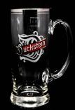 Duckstein Bierkrug, Glas / Gläser, Mini Bierglas 0,3l mit Silberrand, Karsten Kehrein