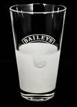 Baileys Glas / Gläser, Longdrinkglas Irish Cream Whiskey halb satiniert Flamme