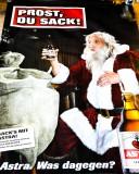 Astra Bier CITYPOSTER / Litfaßsäule Prost Du Sack Kiez, Poster, Bild