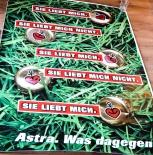 Astra Bier CITYPOSTER / Litfaßsäule Sie liebt mich... Kiez, Poster, Bild