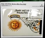 Veltins Bier, Blechschild, Werbeschild Zunehmend heiter, Nr. 4