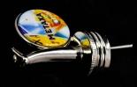 Metaxa Flaschenausgießer, Ausgießer Metaxa Logo Metall Ausgießer