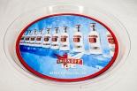 Smirnoff Vodka, Serviertablett Rundtablett transparent Serve extra Chilled