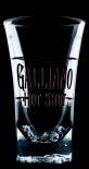 Galliano Likör, Acryl Shot Glas, Stamper, Likör Glas...keine Scherben!