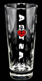 Astra Bier Glas / Gläser, Bierglas Frankonia 0,5l St Pauli Hamburg Kiez