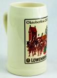 Löwenbräu Bier Brauerei, OKTOBERFEST 2015 Seidel, Bierkrug 0,5 Liter Humpen