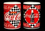 Coca Cola, Porzellan Salz und Pfeffer Streuer Drink Coke orig.USA Produkt