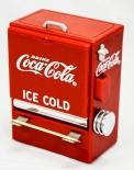 Coca Cola, Zahnstocher Spender Icebox originales USA Produkt