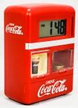 Coca Cola, Spardose mit Uhr und Weckfunktion als Automat, orig. USA Produkt.