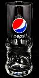 Pepsi Cola, Exclusiv Becher Glas AXL Schwingform 0,3l