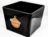 Havana Club, XXL Eiswürfelbehälter, Eisbox, Icecube, eckig, schwarz
