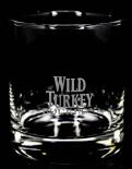 Wild Turkey Bourbon, Tumbler, Whiskyglas, schwerer Fuß
