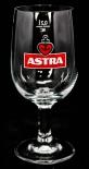 Astra Bier Glas / Gläser, Bierglas, Kelch, Herzanker0,2l