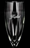 Freixenet Cava Sekt Glas im edlem Design, Sektglas, Hugoglas