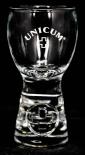 Unicum, das Originalglas, Relief 4 cl von Sahm, Brennerei Zwack, Magenbitter