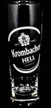 Krombacher Bier, Bierglas 0,2l Krombacher Hell