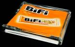 Bifi Salami, Rollkorn Vollglas Zahlteller, gewölbt, sehr edles Design