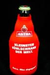 ASTRA BIER - KLEINSTER KÜHLSCHRANK DER WELT ECHTES NEOPREN