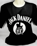Jack Daniels Whiskey, T-Shirt Guitar No.7 Gr.L, full Logo