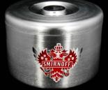 Smirnoff Vodka, Aluminium Eiswürfelbehälter, Flaschenkühler, 10L, 3-teilig