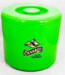 Canario Cachaca, Eiswürfelbehälter, Flaschenkühler, 10L, grün, 3-teilig