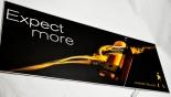 Johnnie Walker Whisky, LED Matte animierende Leuchtreklame Expert More