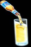 Fosters Bier, LED Leuchtreklame animierende Leuchtreklame Filling Glas