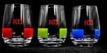 Osborne 3 x Veterano, XXL Weinbrand Glas Schwenker