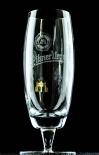 Pilsener Urquell Glas / Gläser Pokal 0,4l Relief Bierglas mit Fußprägung