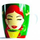 Jacobs Krönung Ritzenhoff Kaffeebecher Tasse Kaffeetasse 14. Jubiläumsedition