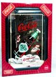 Coca Cola, Werbespiegel in Kunststoffrahmen schwarz Drink Bottle