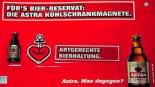 Astra Bier Kühlschrankmagnete / Magnete 3 Stück