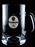 Krombacher Bier Exclusiv Seidel 0,5l, Bierseidel, Bierkrug