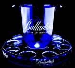 Ballantines Whisky LED Eiswürfelbehälter incl.8er Getränketablett