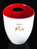 Freixenet Mia, Sekt, Flaschenkühler, Eiswürfelbehälter, rote Ausführung