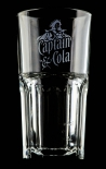 Captain Morgan, Rum, Longdrinkglas alte Form, Kl. Ausführung, 2cl 4cl