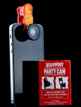 Desperados Bier, Partycam, Fish Eye Linse für das Handy, Partykamera
