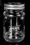 Aperol Spritz, Likör, Cocktailglas mit Deckel, Krug, Schraubverschluß