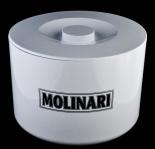 Molinari, Likör, 10 Liter Eiswürfelbehälter, weiß, Molinari 3-teilig