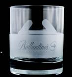 Ballantines, Whiskey, Tumbler, Whiskeyglas Stolen seltene Ausführung