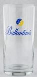 Ballantines, Whiskey, Longdrinkglas Yellow/Blue seltene Ausführung
