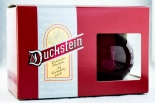 Duckstein Bier, 2 x mundgeblasene Weihnachtskugeln, rote Ausführung..sehr edel