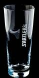 Shatlers Cocktail, Cocktailglas, Longdrinkglas, weiß satiniertes Logo