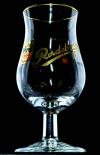 Radeberger Kräuter, Bitterlikör, Goldrand-Glas, 2/4cl, Schnapsglas, Tastingglas