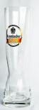 Krombacher Bier, Bierglas, XXL 2 Liter Starcup Weizenbierglas