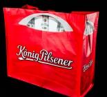 König Pilsener Bier, XXL Beach-Bag, Strandtasche, lange Griffe zum Umhängen
