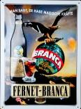 Fernet Branca, Kräuter, Werbeschild, Blechschild, 40 x 30cm